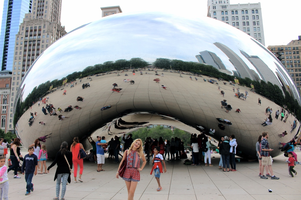Cloud Gate Chicago 3