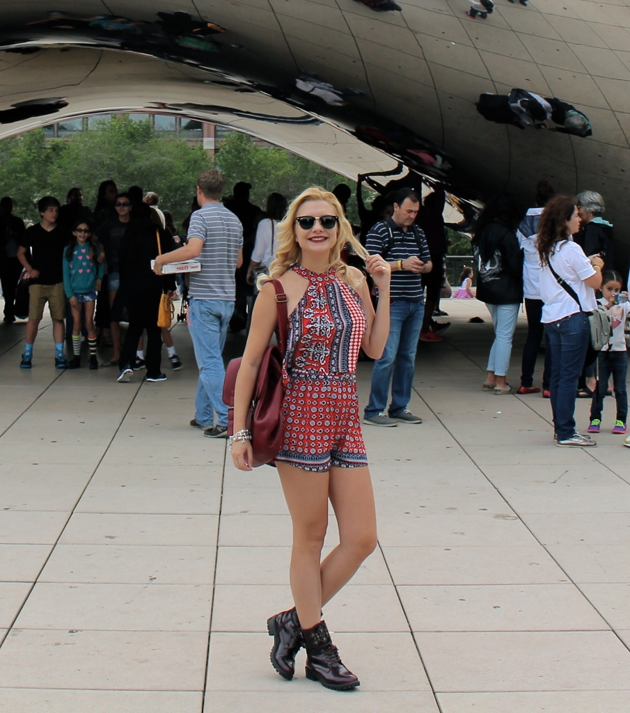 Cloud Gate Chicago 4 look