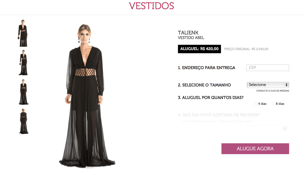 Dress and go aluguel de vestidos 1