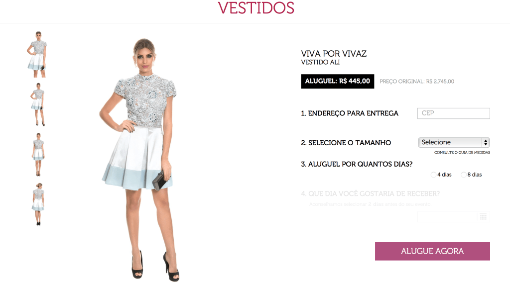 Dress and go aluguel de vestidos 2