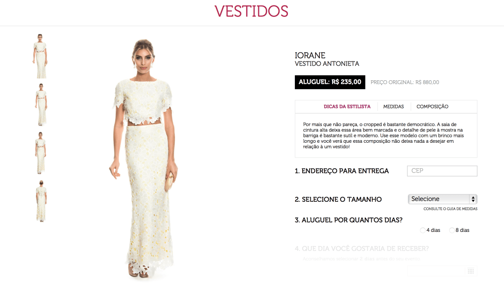 Dress and go aluguel de vestidos 4 alugue online