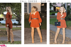 Fall Style – She In Dress