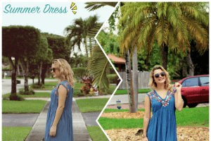 Look do dia: Romwe Summer Dress