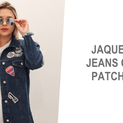 Jaqueta Jeans com Patches!